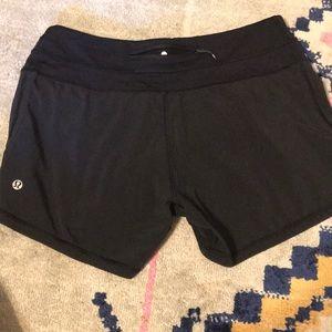 lululemon athletica Shorts - Lululemon black shorts